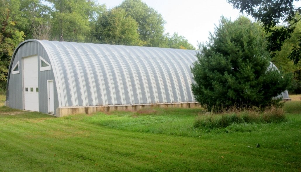 Steel Arch Buildings Quonset Huts Half Round Buildings Kbp